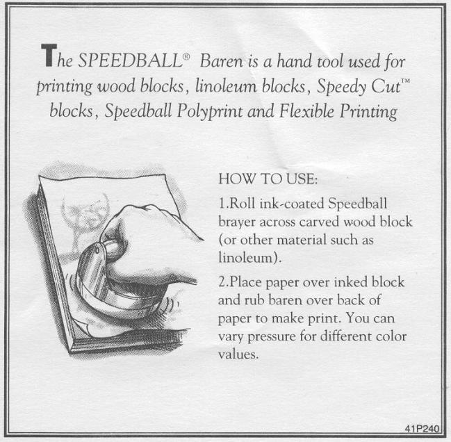 kopen pers voor hout en lino pers