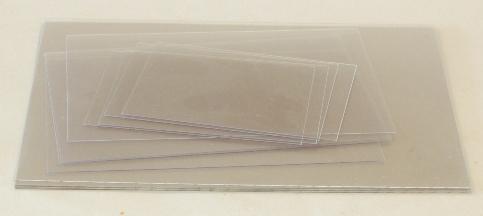plastic platen 0 5mm voor droge naald en monotype. Black Bedroom Furniture Sets. Home Design Ideas